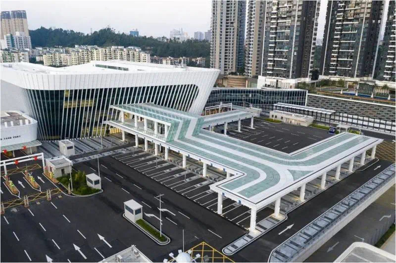 莲塘/香园围口岸正式启用 大湾区再添新物流大通道