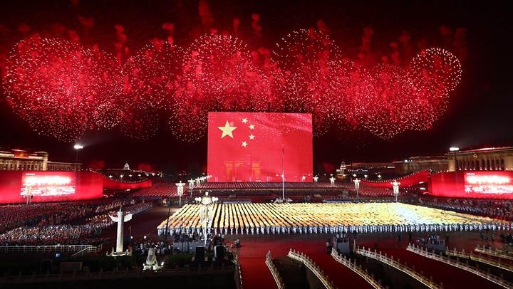 這就(jiu)是今晚的北京!