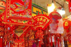 香港新春市場熱鬧興旺