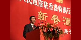 駱(luo)惠寧在我辦2020年新春酒會上的致(zhi)辭(ci)